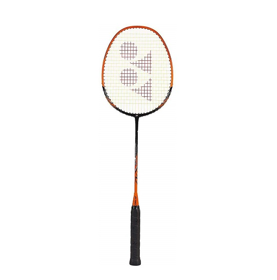 Yonex 2018 New Nanoray Ace Badminton Strung Racket (Black Orange)