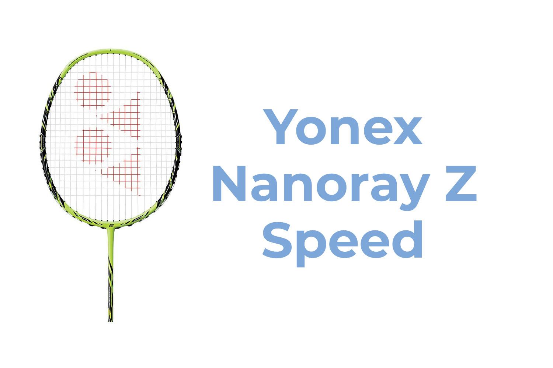 Yonex Nanoray Z Speed
