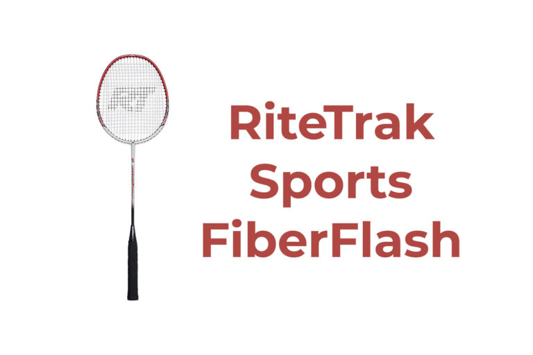 RiteTrak Sports FiberFlash 7 Badminton Racket